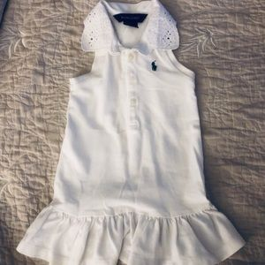 White Ralph Lauren Dress